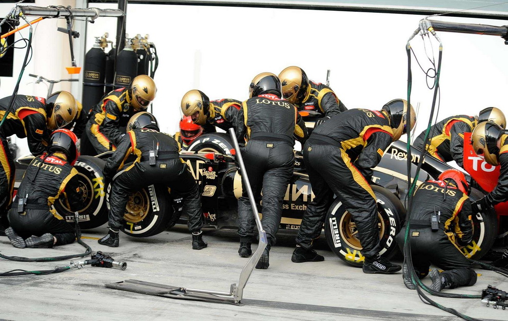 5514 За кадром Гран При Бахрейна 2012