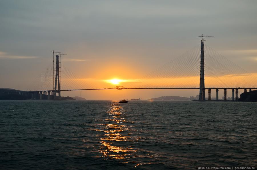 5612 Мост на остров Русский во Владивостоке (Апрель 2012)