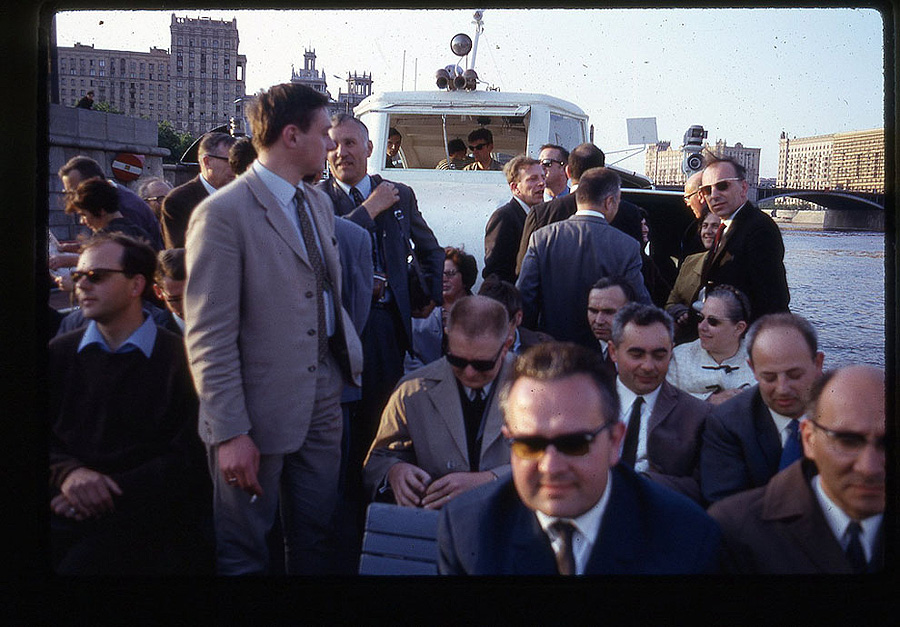 578 Москва 1969 года в объективе американского фотографа