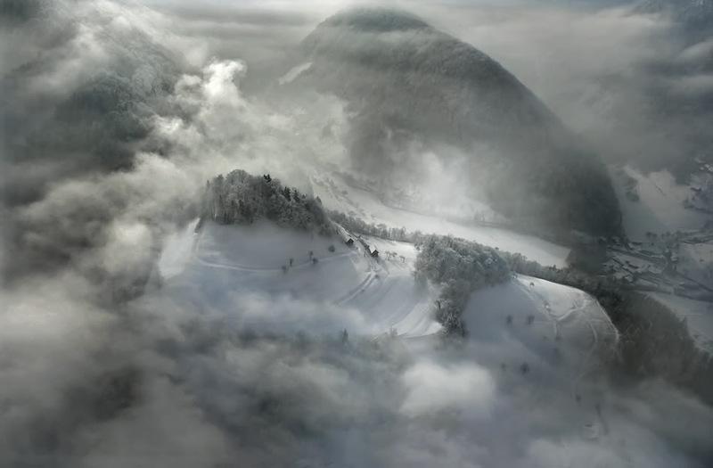 58 Словения с высоты птичьего полёта