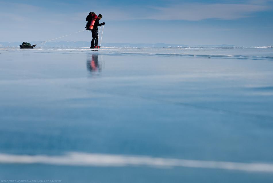 584 Тонкие струны Байкала или 400 км на коньках