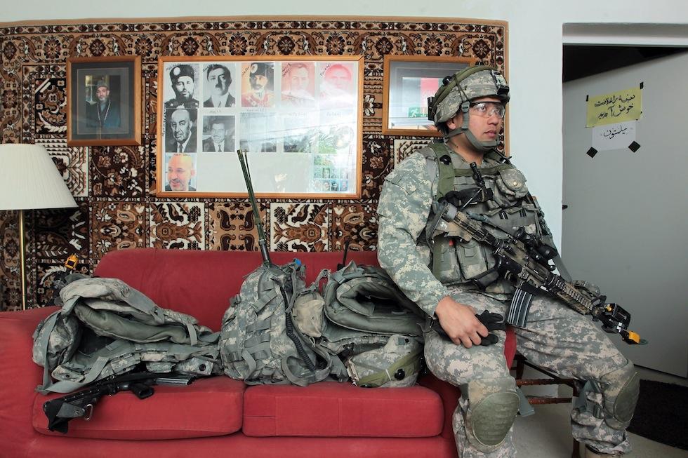 587 Афганский кишлак в самом сердце Германии