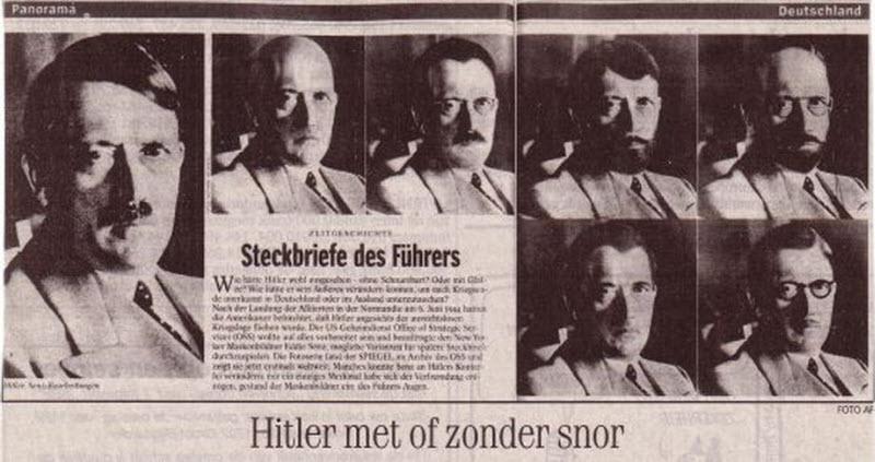 601 Жизнь Адольфа Гитлера в фотографиях