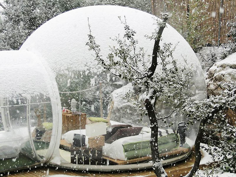 6113 Отель Bubble во Франции