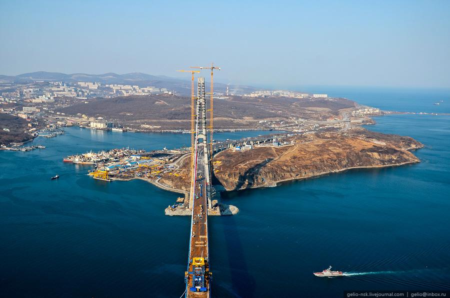 6143 Мост на остров Русский во Владивостоке (Апрель 2012)