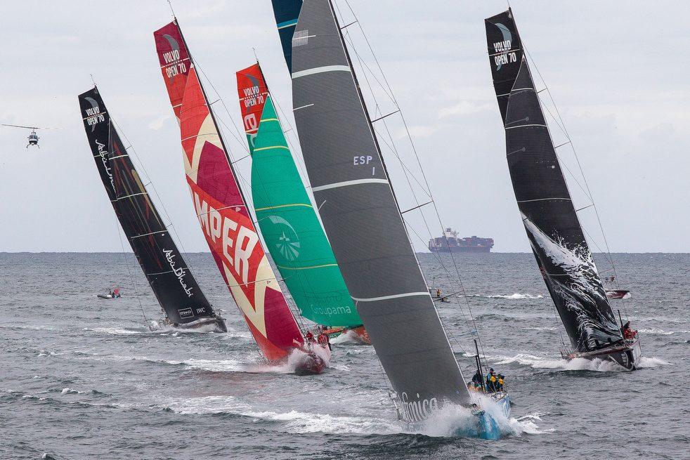 6147 Кругосветная регата «Volvo Ocean Race» направляется в Майями