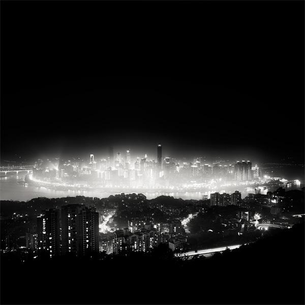 615 Черно белая красота больших городов