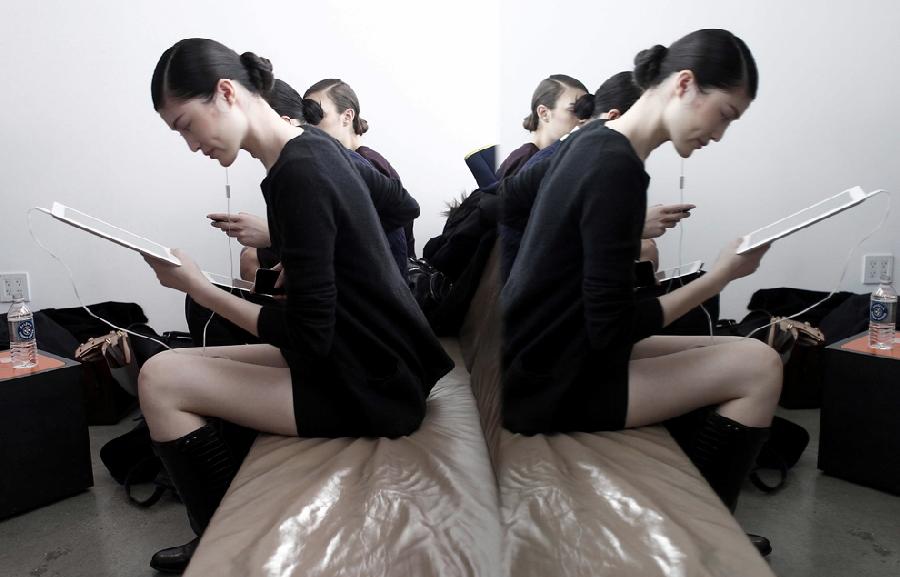 623 За кулисами нью йоркской недели моды сезона осень 2012