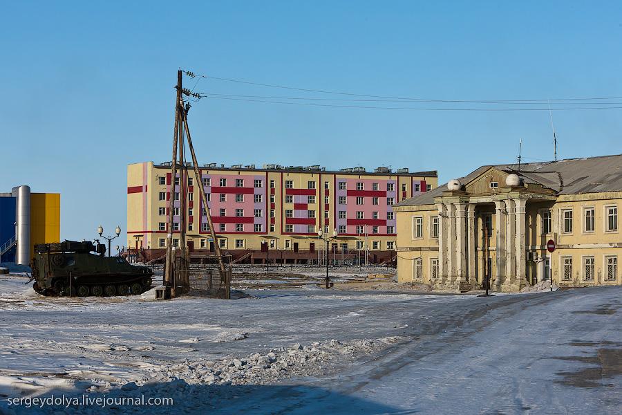 658 Певек самый северный город России