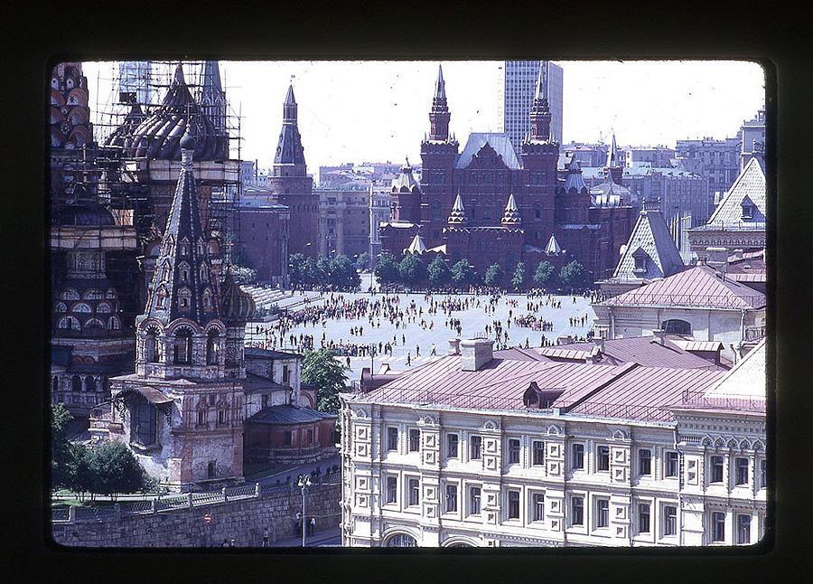 672 Москва 1969 года в объективе американского фотографа