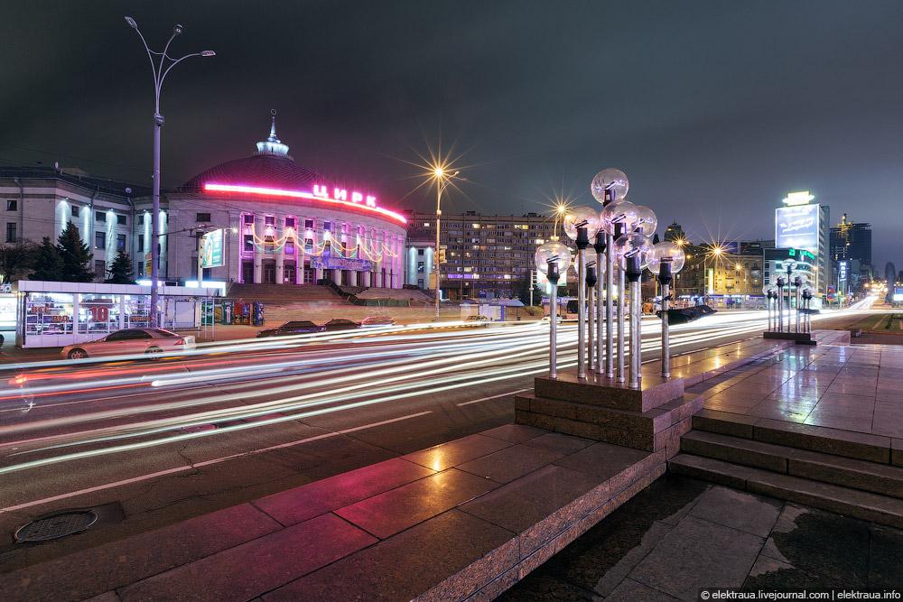 677 Ночной Киев