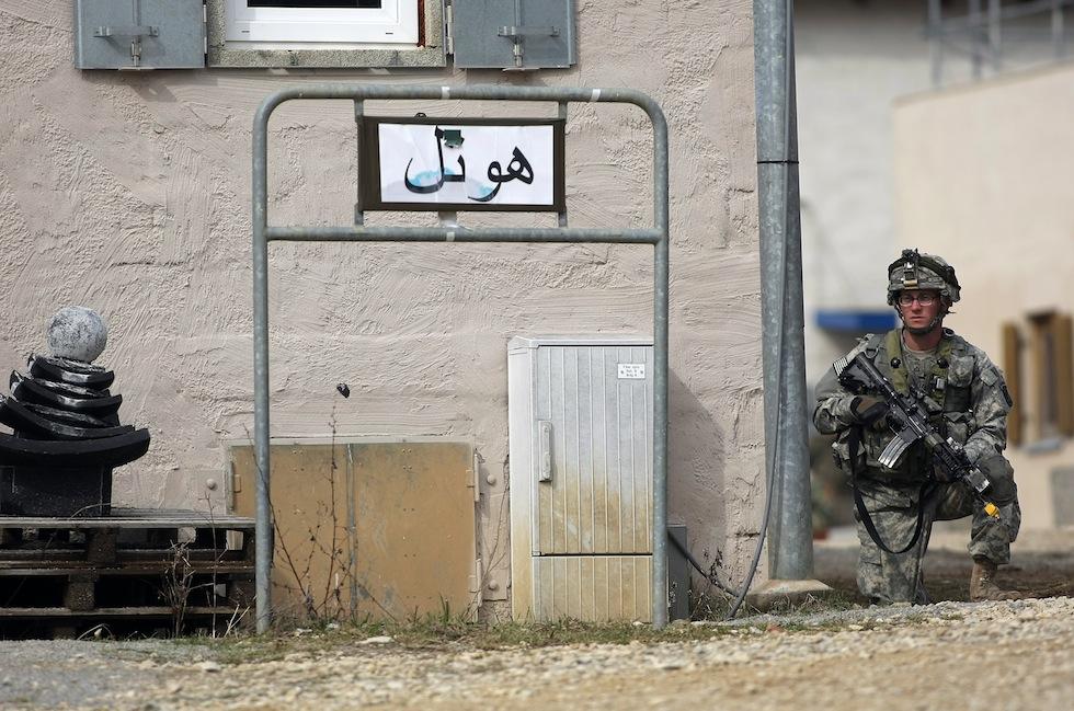 679 Афганский кишлак в самом сердце Германии