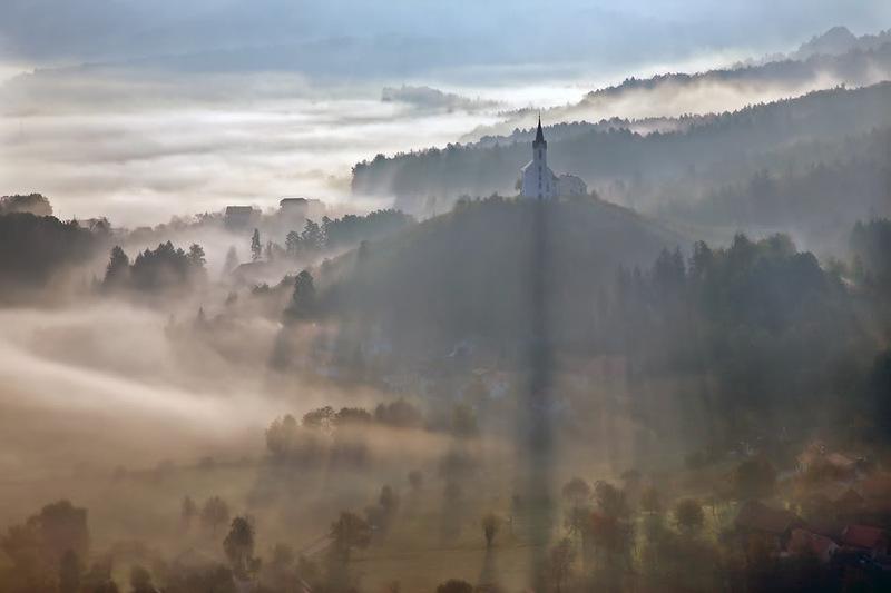 68 Словения с высоты птичьего полёта