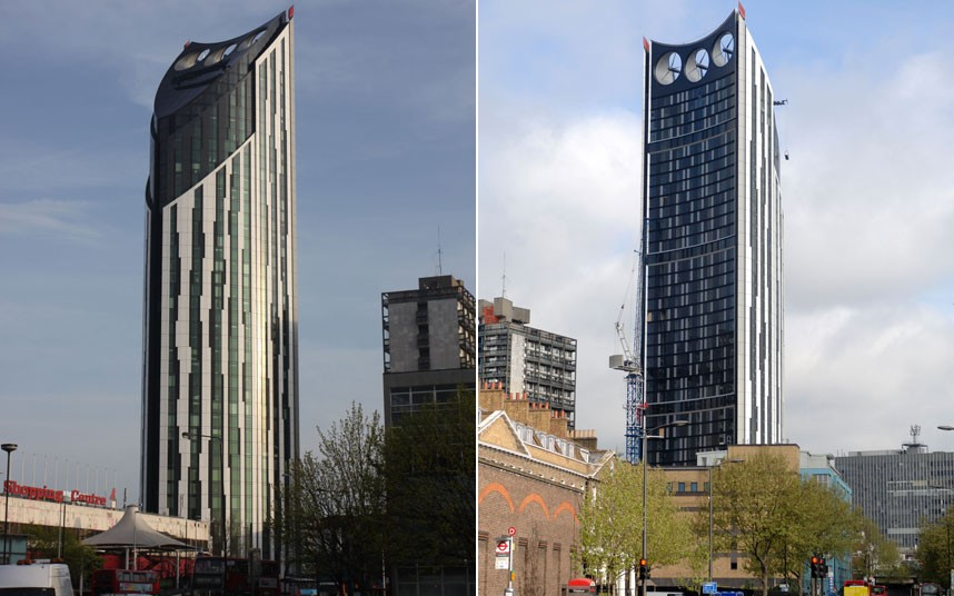 710 Самые уродливые здания мира