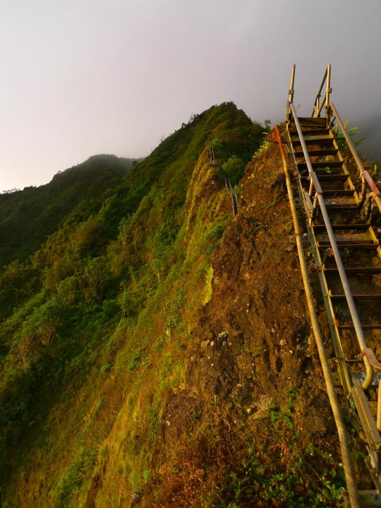 7123 Лестница Хайку на Гаваях