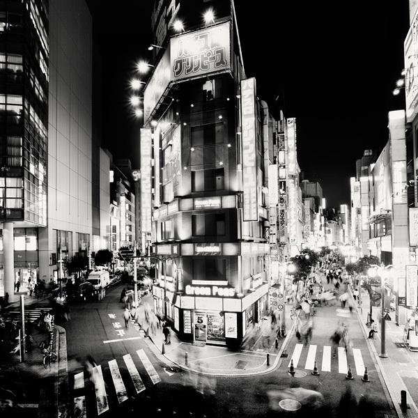 715 Черно белая красота больших городов