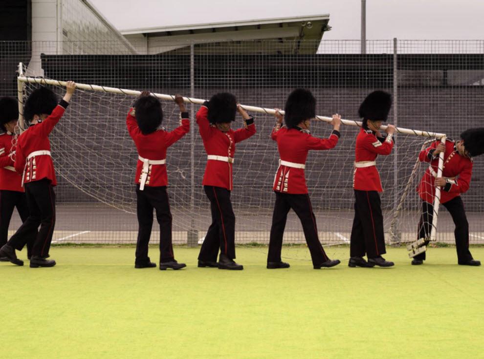 7166 Лондонские гвардейцы готовятся к Олимпиаде
