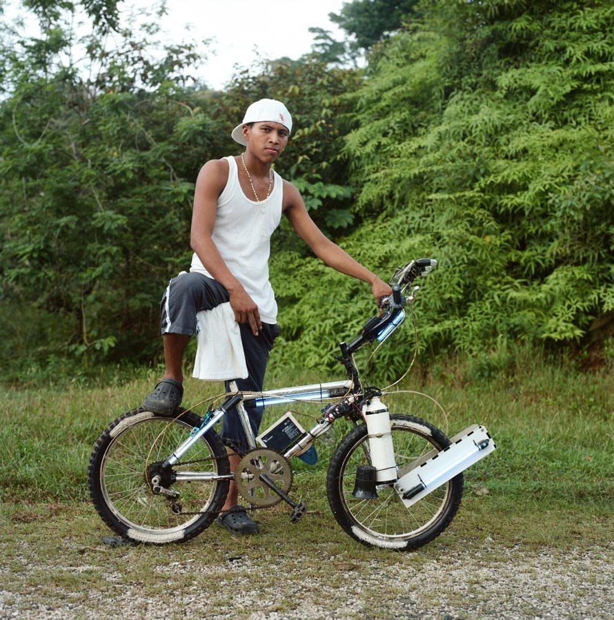 7168 Панамские велосипедисты в фотопроекте Priti Baiks