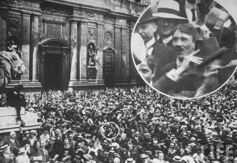 726 Жизнь Адольфа Гитлера в фотографиях
