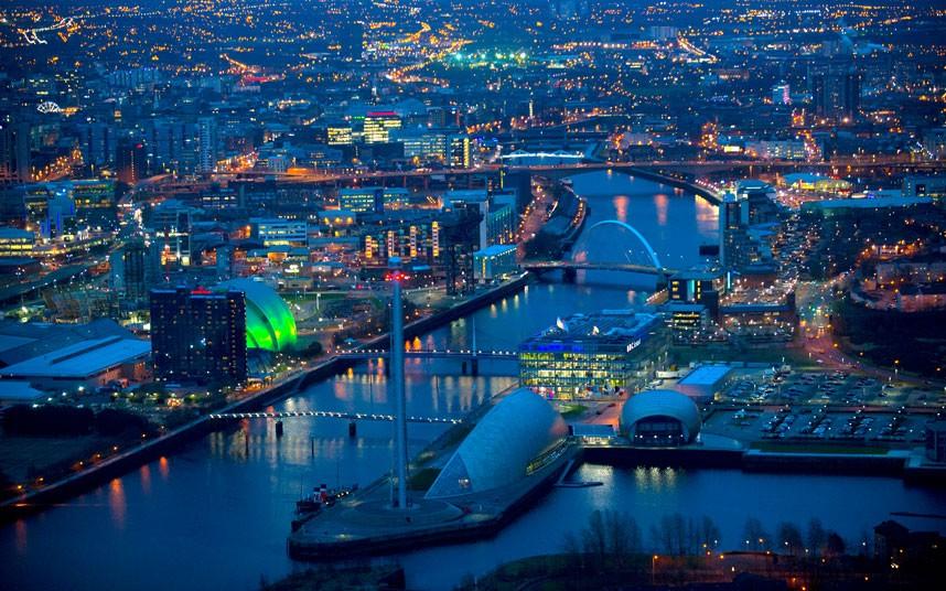 727 Британские города с воздуха