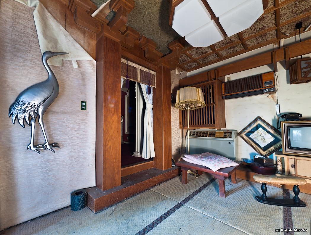 752 Заброшенный отель в Японии