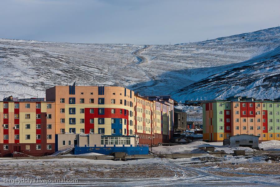754 Певек   самый северный город России