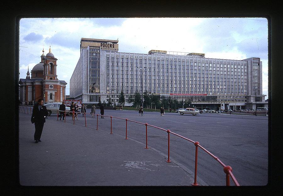766 Москва 1969 года в объективе американского фотографа