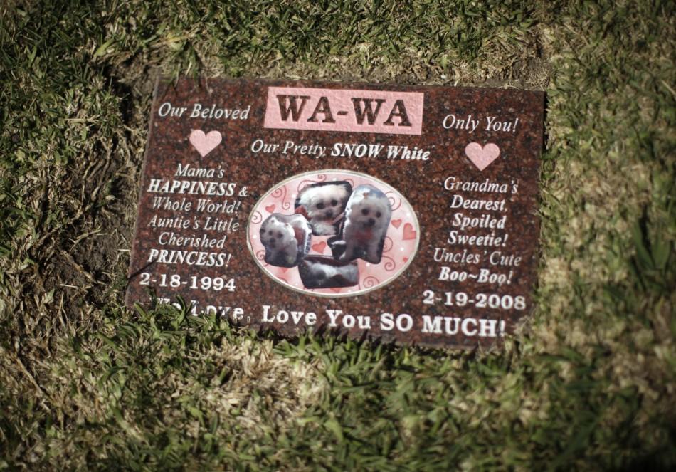 768 Кладбища домашних животных в США