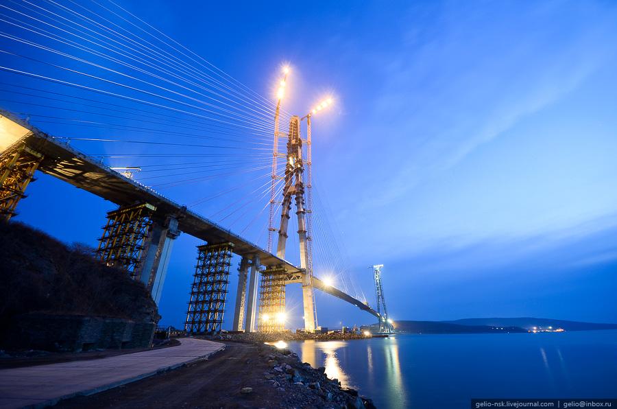 8128 Мост на остров Русский во Владивостоке (Апрель 2012)