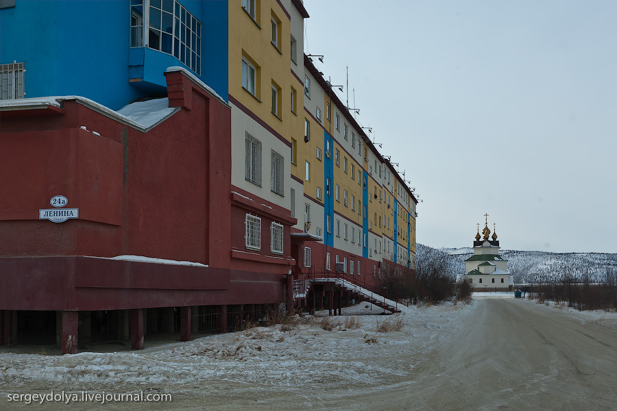 816 Экспедиция на Чукотку: Билибино   самый дорогой город на Земле