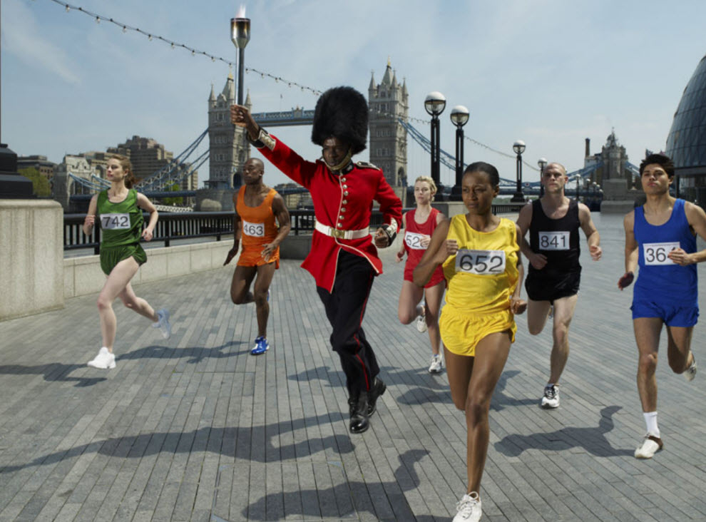 8163 Лондонские гвардейцы готовятся к Олимпиаде