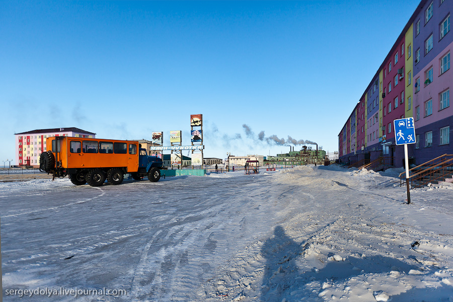 852 Певек   самый северный город России