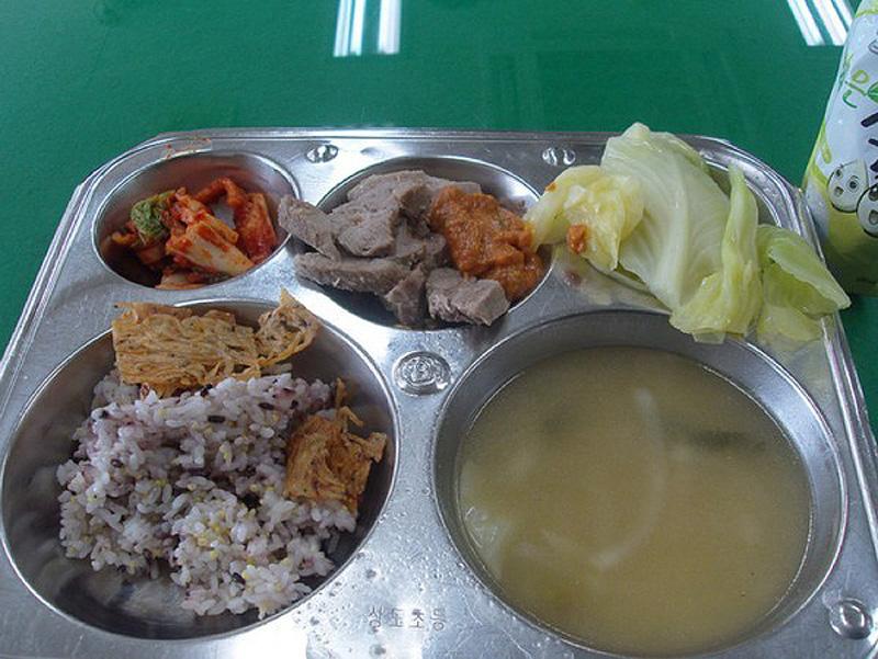 858 Школьные обеды в разных странах мира