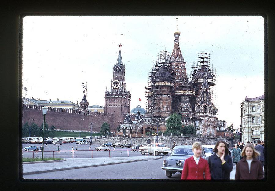 863 Москва 1969 года в объективе американского фотографа