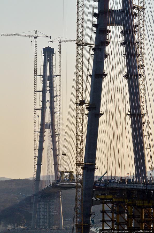 9122 Мост на остров Русский во Владивостоке (Апрель 2012)