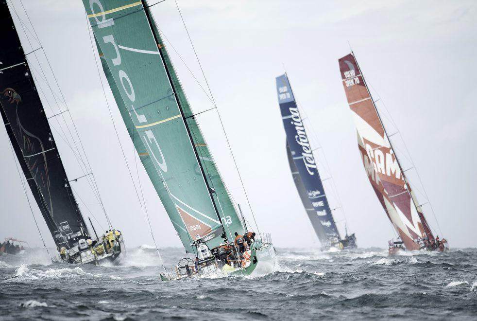 9125 Кругосветная регата «Volvo Ocean Race» направляется в Майями