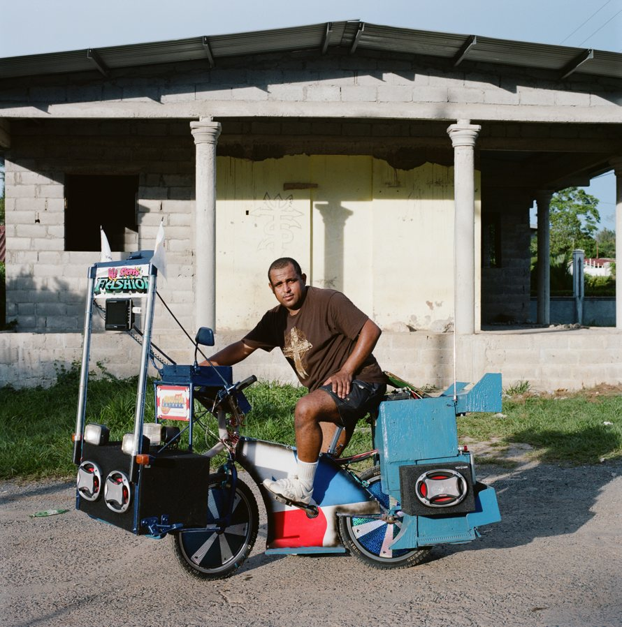 9158 Панамские велосипедисты в фотопроекте Priti Baiks