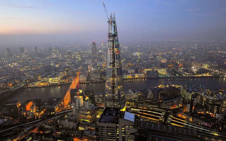 925 Британские города с воздуха