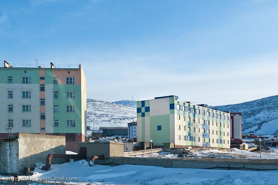 949 Певек самый северный город России