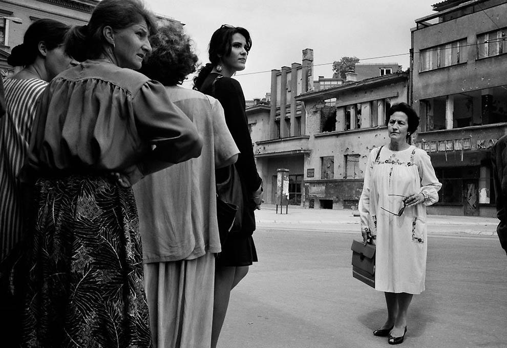 956 Женщины Сараево тогда и сейчас