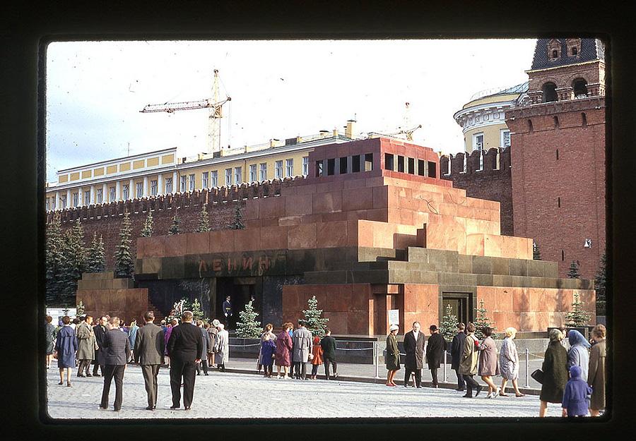 960 Москва 1969 года в объективе американского фотографа