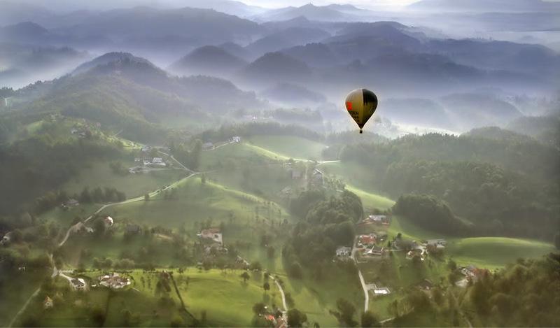97 Словения с высоты птичьего полёта