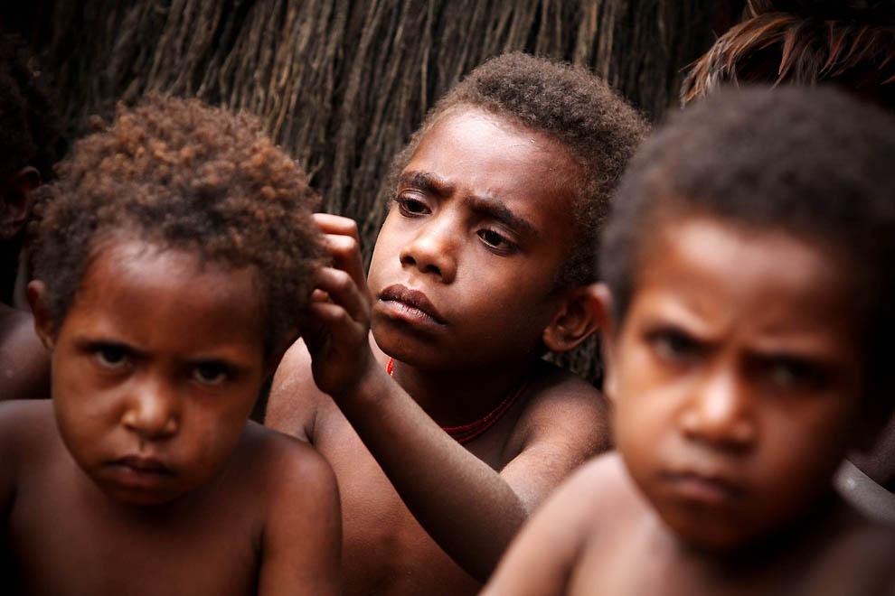 991 Племя Дани из Западной Папуа