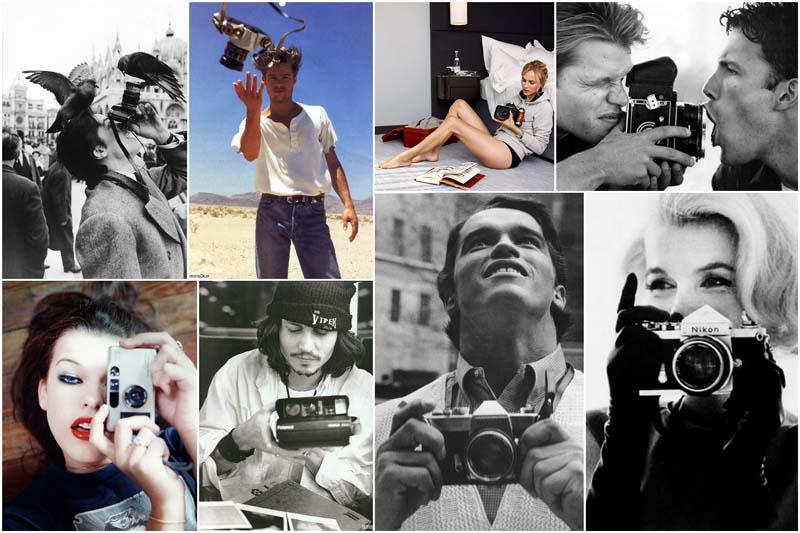 BIGPIC24 Знаменитости с фотоаппаратами
