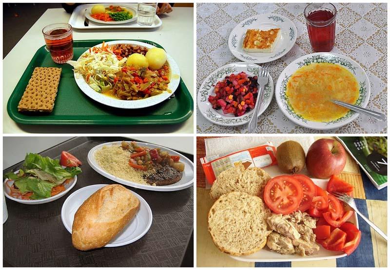 BIGPIC27 Школьные обеды в разных странах мира