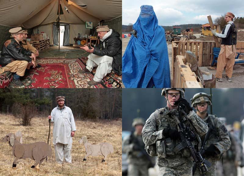 BIGPIC29 Афганский кишлак в самом сердце Германии