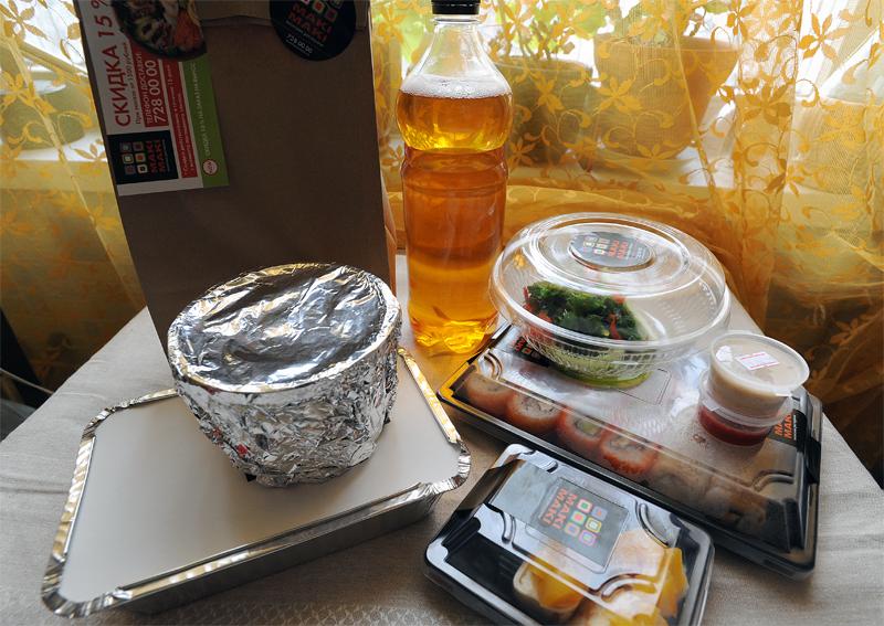 DSC 5564 Вся правда о доставке еды: Ресторан Маки Маки