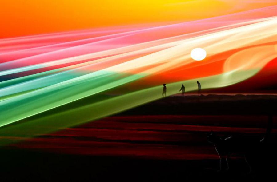 abstrakw Абстрактные фотографии Джоша Адамски