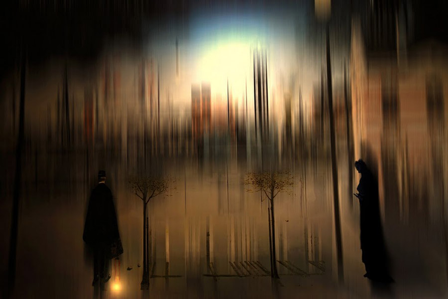 abstralF Абстрактные фотографии Джоша Адамски