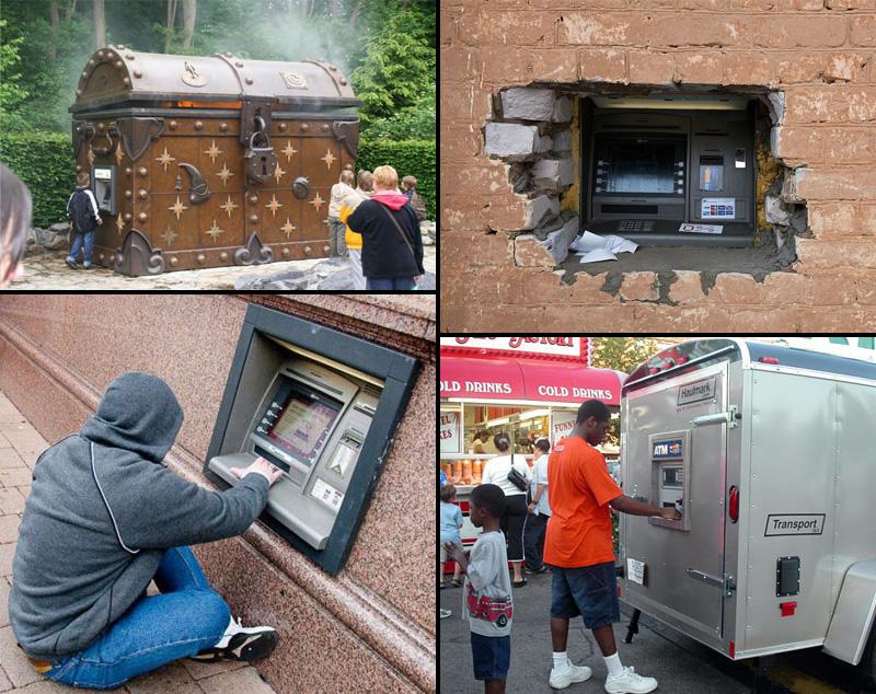Самые забавные банкоматы